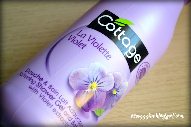 Cottage Douce & Bain Lait Violet Review | Гель для душа с ароматом метеоритов