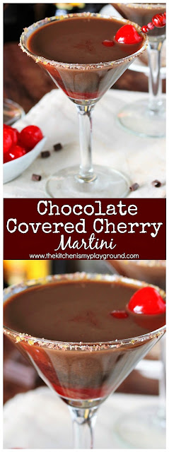 How to Make a Chocolate Covered Cherry Martini image