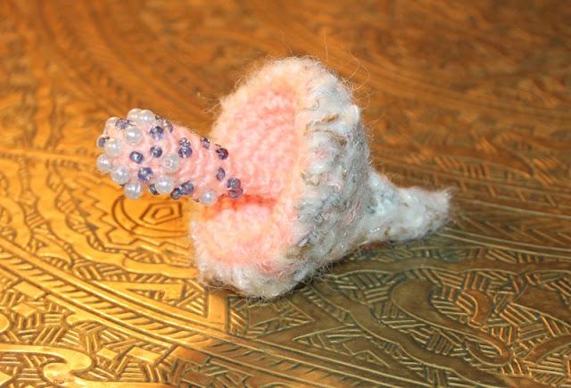 szydełkowe grzybki brosze