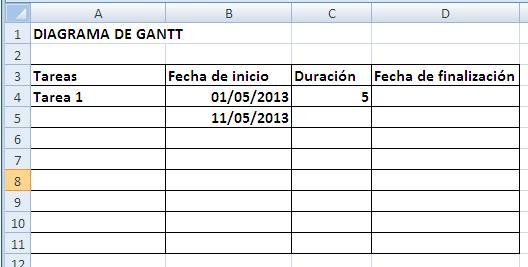 HOJA 12 DIAGRAMA DE GANTT EL DIAGRAMA DE GANTT DEL PROYECTO - diagrama de gantt en excel
