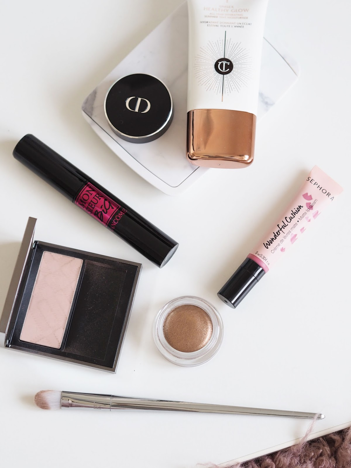 The Five Product Makeup look