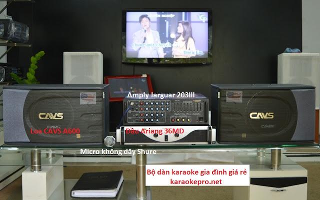Phan phoi thiet bi dan karaoke gia dinh chuyen nghiep chi co tai Karaoe pro