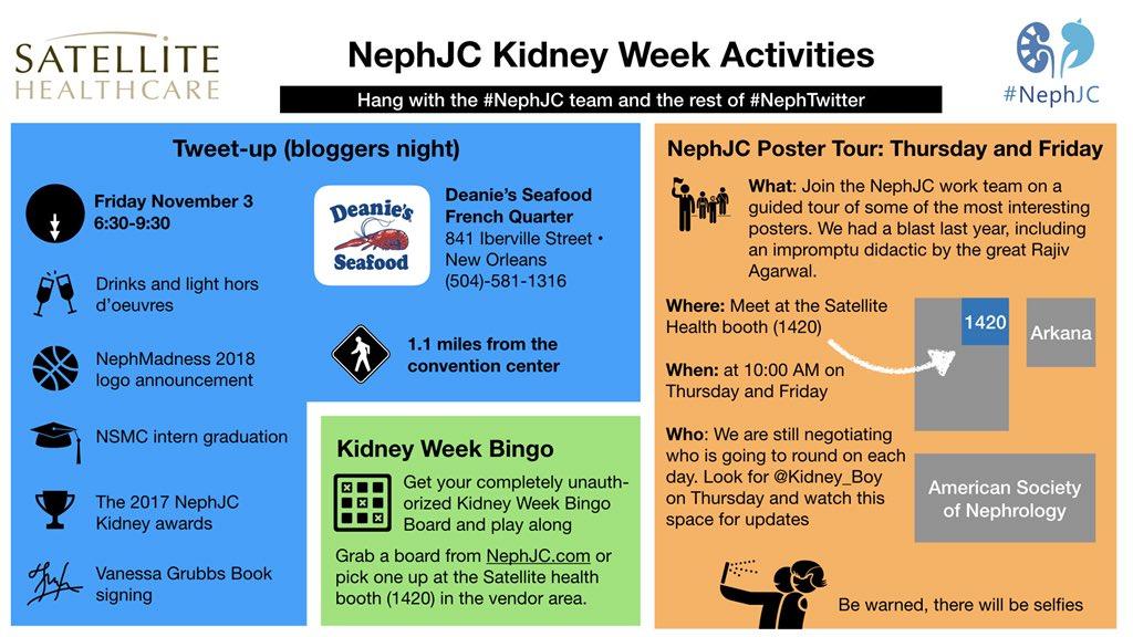 ASN #KidneyWk Tweetup 2017 New Orleans - Renal Fellow Network