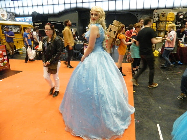 Manchester Comic Con Cosplay, Princess Cosplay, Disney Princess Cosplay,