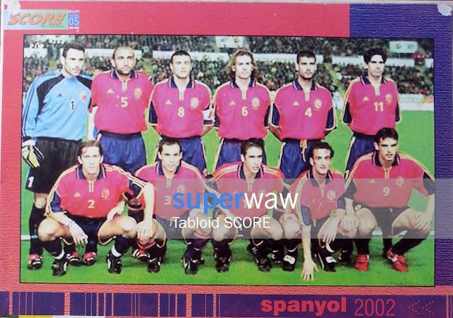 Team Spain 2002