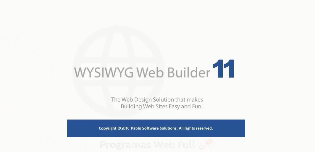 WYSIWYG Web Builder 11.6 Multilenguaje [Crear webs sin escribir una sola línea de Código] ~ El ...