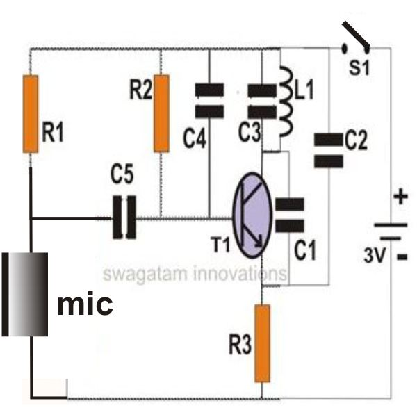 Hobby Electronic Circuits: Simple Touch Sensitive Switch