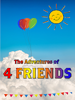 The Adventures of 4 Friends book available on iBooks.