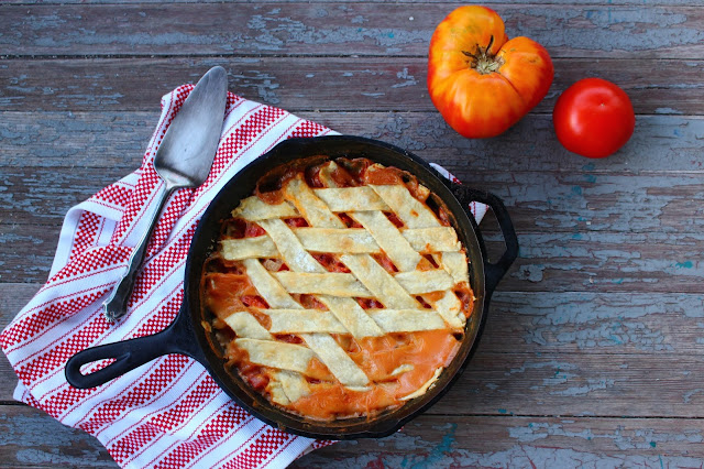 Ronni Lundy's Tomato Pie | Nothing in the House