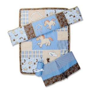 Cowboy Baby Nursery 4 Piece Crib Bedding Set
