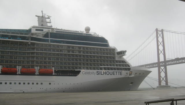 Celebrity Silhouette in Lissabon