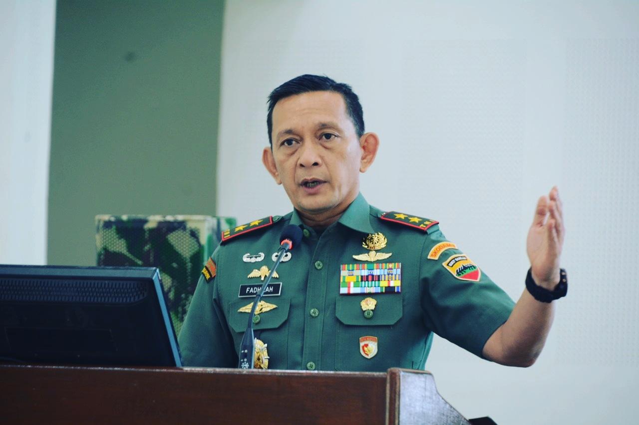 Pangdam I/Bukit Barisan, Mayjen TNI MS Fadhilah