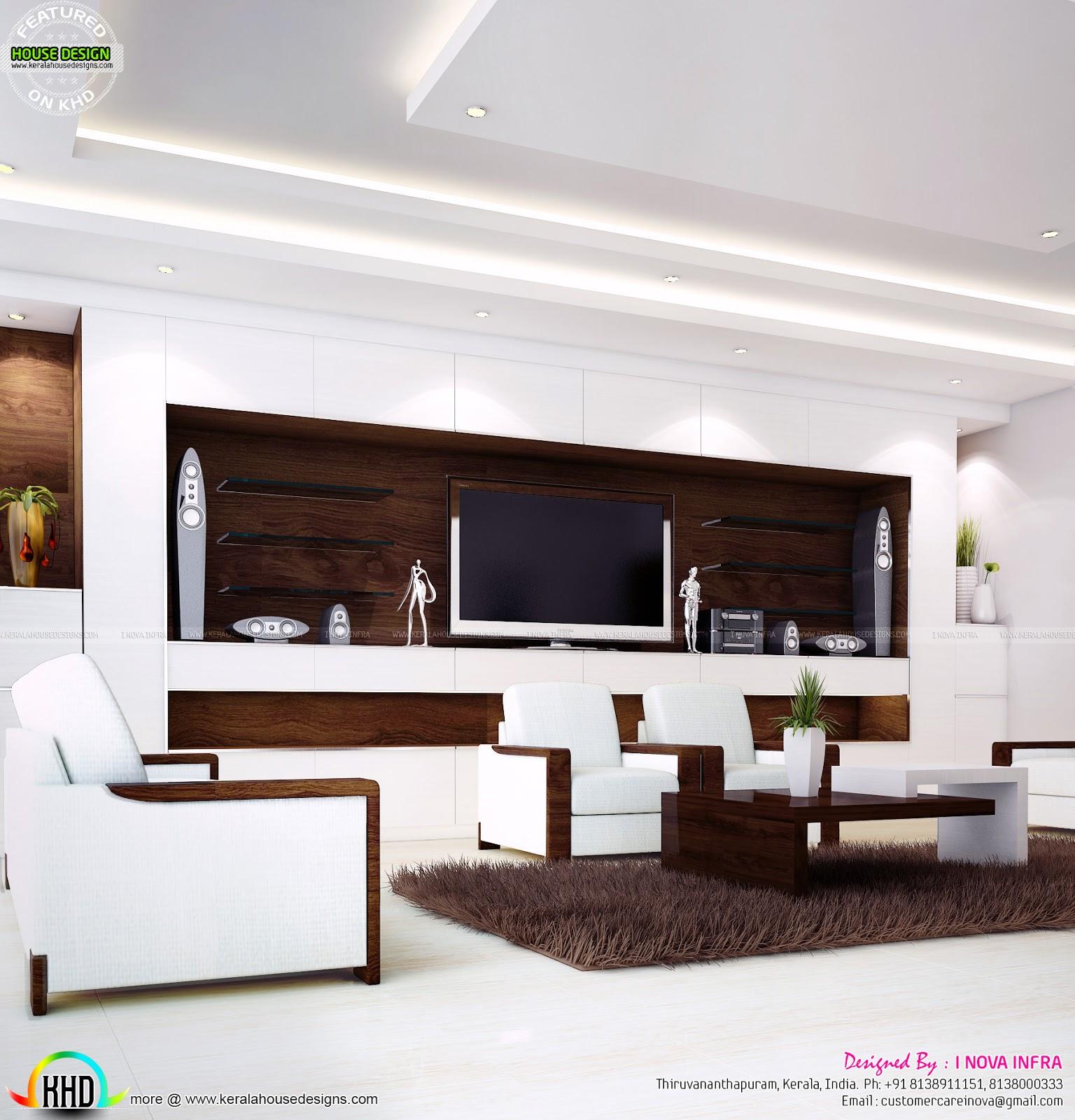 Kerala Home Interior: Home Interior Designs By I Nova Infra