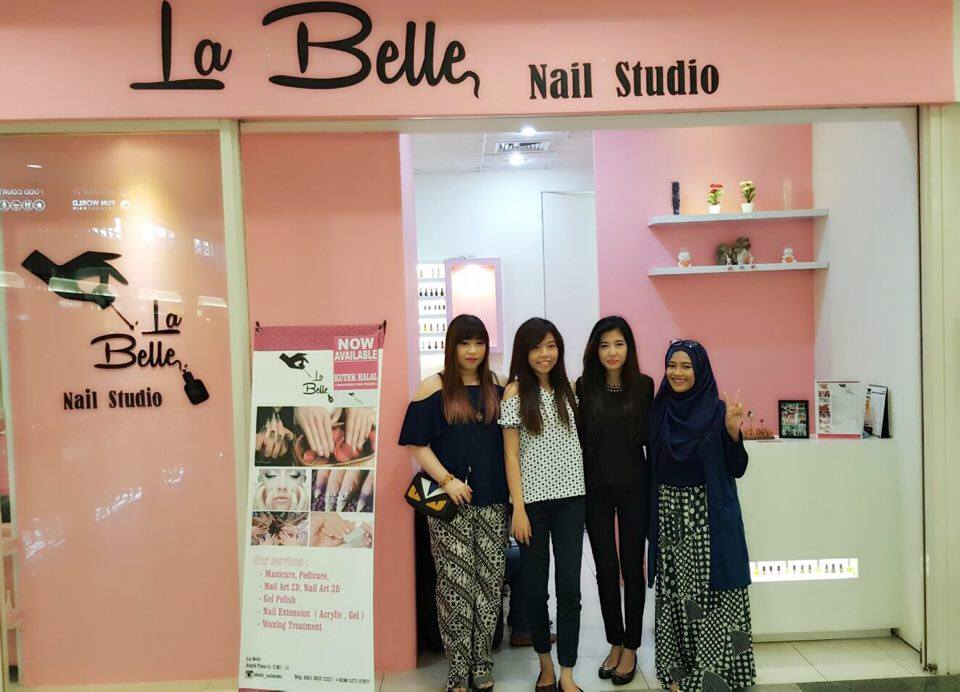 Introducing : La Belle Nail Studio (SPONSORED) - Pink and Undecided