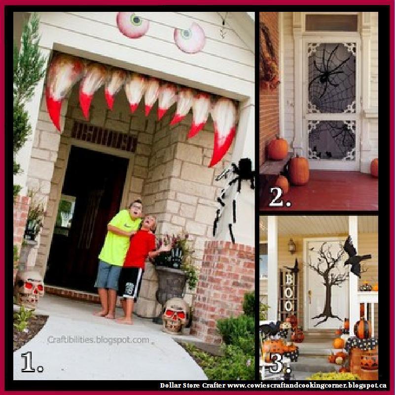 Dollar Store Crafter: 3 Halloween Door Decorations