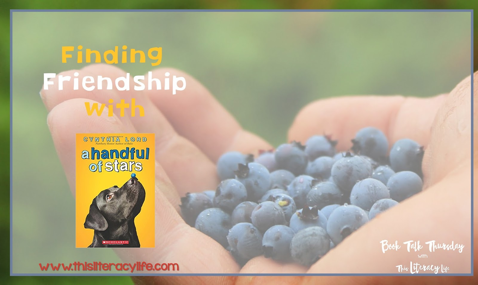 Friendships may come and go,but if we stay true to ourselves, our friendships will be more meaningful. Find out more in this Book Talk Thursday with A Handful of Stars.