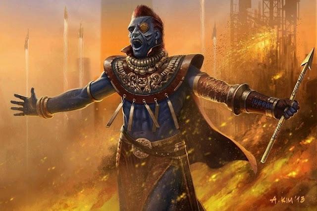 Concept art para Yondu en Guardianes de la Galaxia
