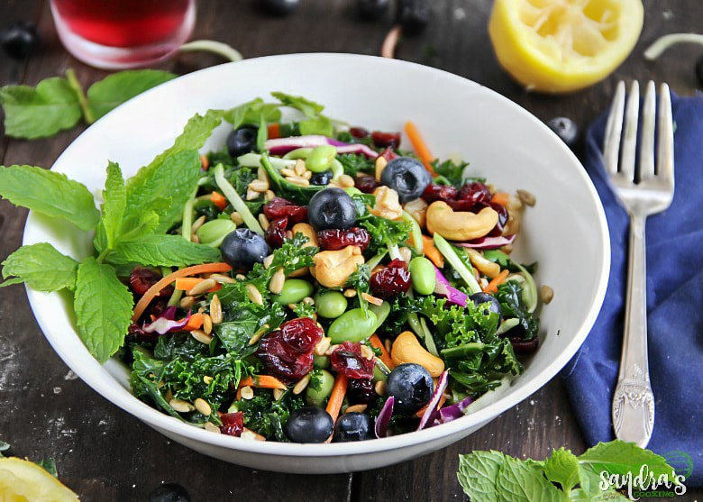 Superfoods Salad with health benefits.#salad #recipes