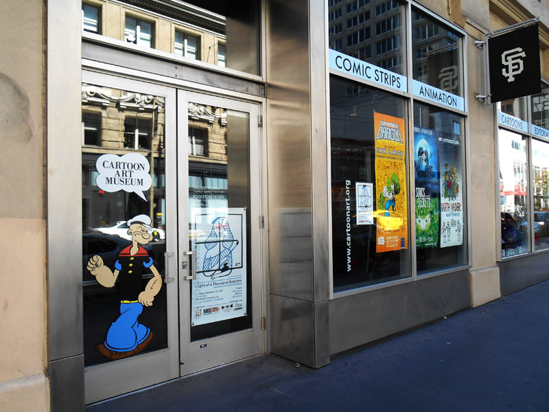 Sami Kivela San Francisco Cartoon Art Museum