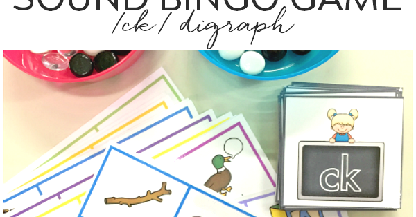 Printable digraph bingo game for ck sound you clever monkey spiritdancerdesigns Choice Image