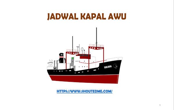 Jadwal Kapal Pelni Awu