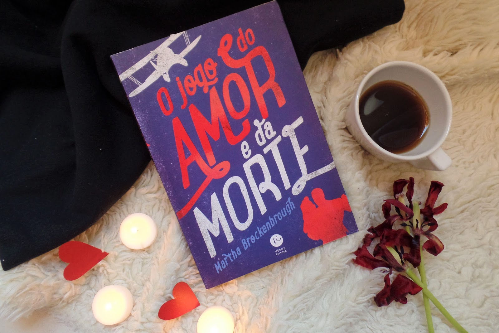 RESENHA O jogo do amor e da morte - Martha Brockenbrough
