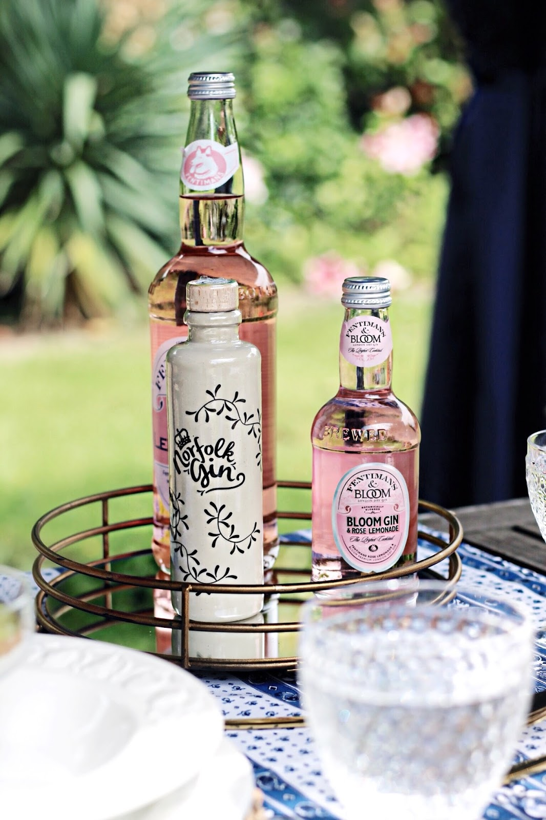 Summer Pink Drinks Fentiman's Bloom Gin