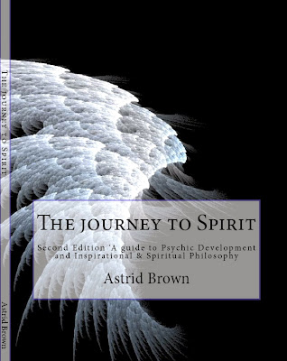 MY PSYCHIC DEVELOPMENT BOOK    'The Journey to Spirit'  Available in both paperback and kindle