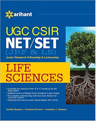 Download Free UGC-CSIR NET (JRF & LS) Life Science Book PDF