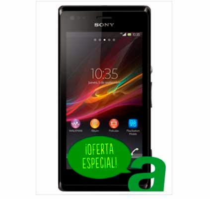 Sony Xperia M AMENA: precios y características