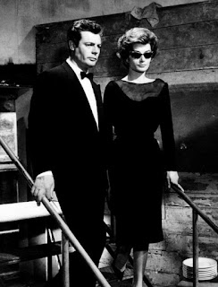 Marcello Mastroianni and Anouk Aimée also starred in Fellini's La Dolce Vita