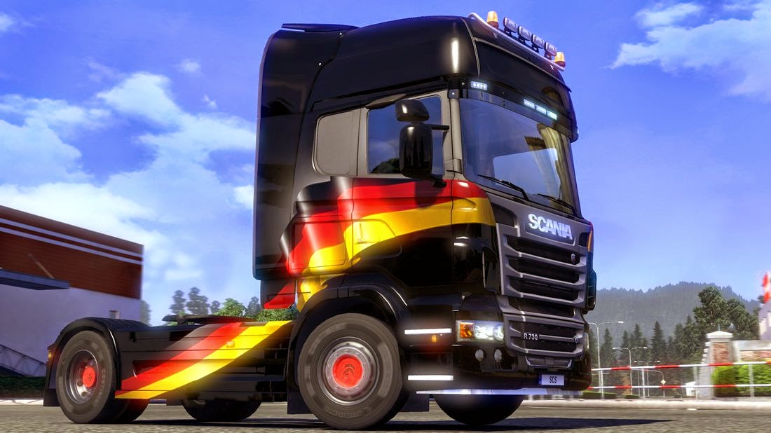 SCS Software's Blog: New ETS2 Paint Jobs Pack: Germany