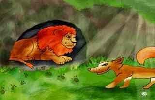 El perro que perseguía al león: lecturas para niños