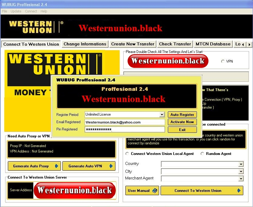 Free Western Union Money Transfer Hack
