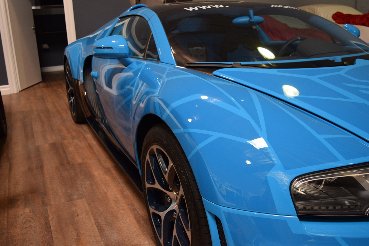 Bugatti veyron grand sport vitesse transformers - photo#12