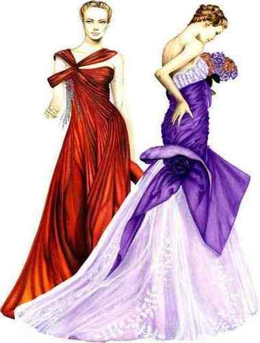 Fashion Design   Different Elements of Design - Textile ...