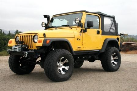 Jeep Wrangler Off Road Edition 2004-2016