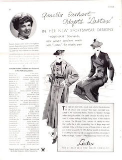 Amelia Earhart's clothing line? ~ Self-Rescuing Princess