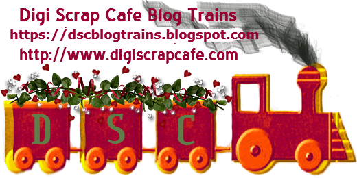 Digi Scrap Cafe Blog Trains