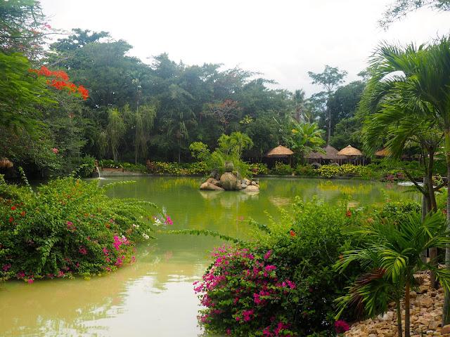 Thap Ba mud baths, near Nha Trang, Vietnam