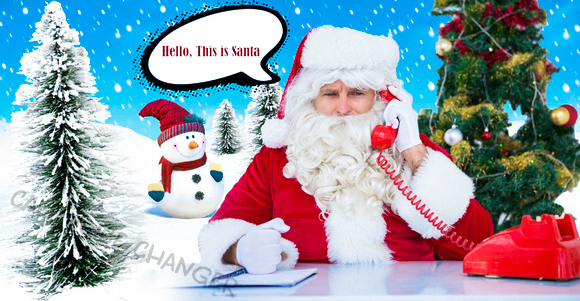 Santa voice changer for Santa call