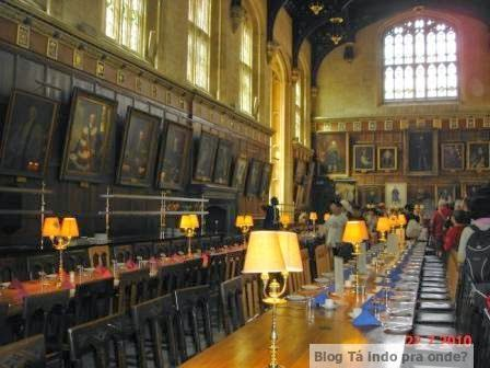 Universidade de Oxford no clima de Harry Potter