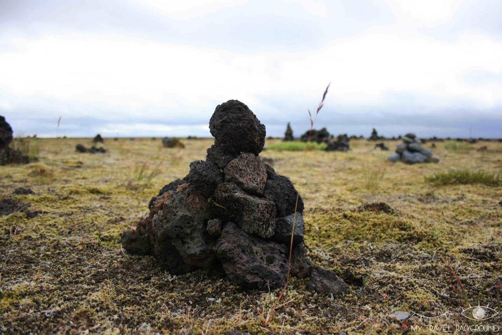 My Travel Background : le sud de l'Islande, de Vik à Höfn - les cairns de Laufskalavarda