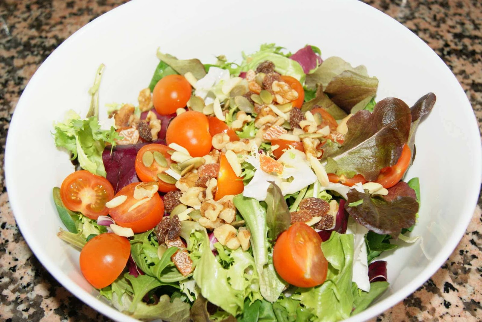 receta de ensalada BIO paso 3