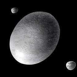 Se especula que Haumea nació de una colisión masiva