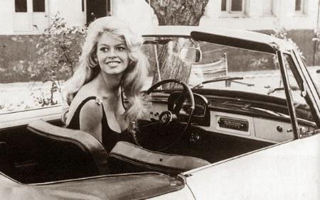 Brigitte Bardot Morgan Car St Tropez