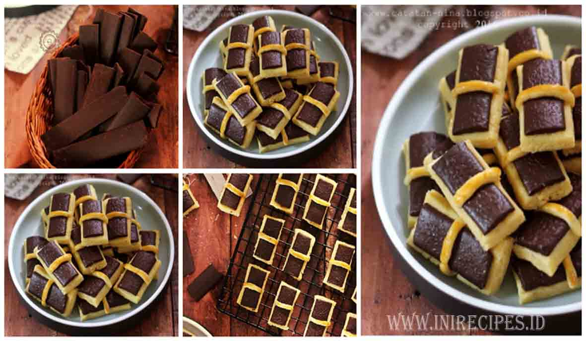 Chocolate Stick Cookies