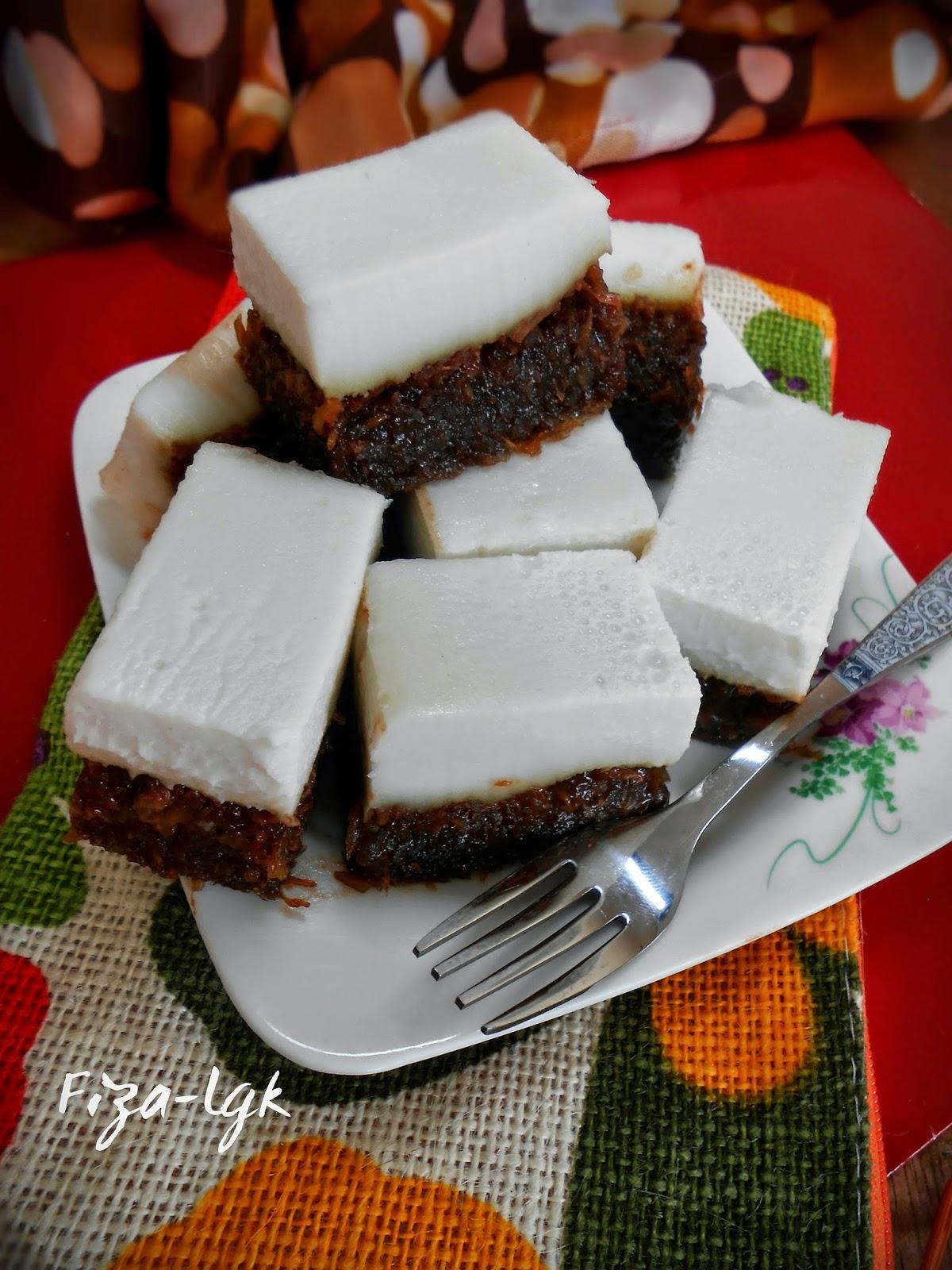 KUIH TALAM UBI KAYU   Fiza's Cooking