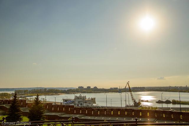Речной вокзал Казань