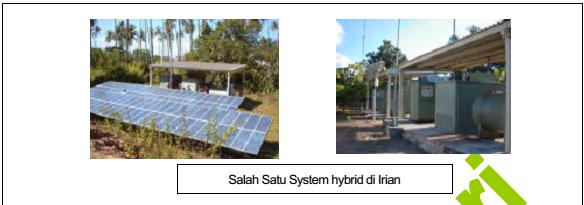 Pembangkit Listrik Tenaga Surya (PLTS) Skala Menengah- Besar (Hybrid, Grid Interractive)